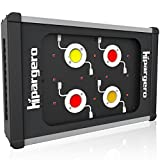 HIPARGERO LED Grow Light - 450W COB LED Grow Lights for Indoor Plants Veg and Flower Lighting Fixture with 1200K 3000K 5000K Full Spectrum 100W Epileds COBs and High Power 5W Cree LEDs