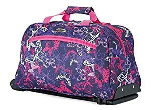 Mens & Ladies Wheeled Holdall Extendable Pull Along Handle