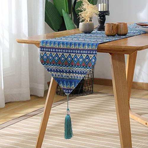 ttqiaohua chemin de table taffel double face tissu table a the table a manger table basse