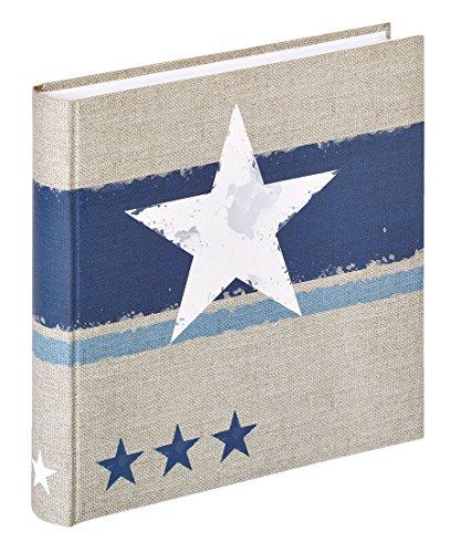 Stellar Fotoalbum in 30x30 cm 100 weiße Seiten Jumbo Foto Album: Farbe: Blau