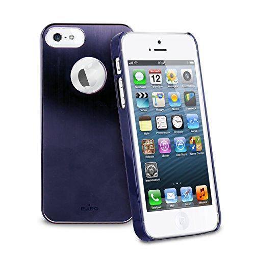 Puro 005400 Back Case - Metal - Apple iPhone 5/5S/5SE blau