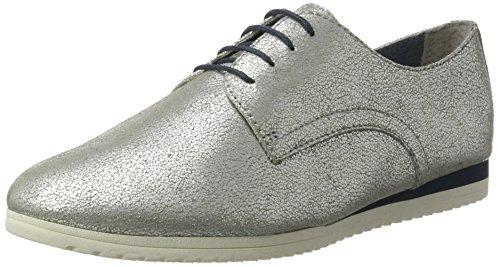 Tamaris Damen 23630 Oxford, Silber (Silver Antic 945), 39 EU