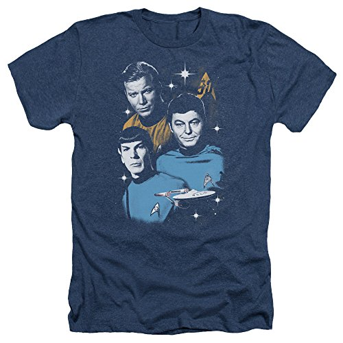 Star Trek Herren T-Shirt Navy