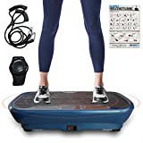 Skandika V1 Single Motor Vibration Plate, Blau, One Size
