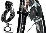yayago GoPro Fahrrad Rad Rohrklemme ( Durchmesser von 26-32mm ) Lenkerhalterung Rahmenhalter mit Inbusschlüßel für DBPower HD 1080p