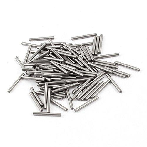 sourcingmap® 100 Stück 2.05mm x 18mm Edelstahl Zylinderstift Bolzen Passstift Dowel Pins