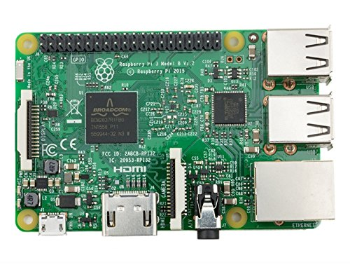 Raspberry Raspberry-PI-3 Super Fast All-in-One Desktop Computer Processor with HDMI Ports - Silver