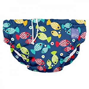 Bambino Mio Schwimmwindel SWPS AQ, Aquarium, S (0-6 Monate)