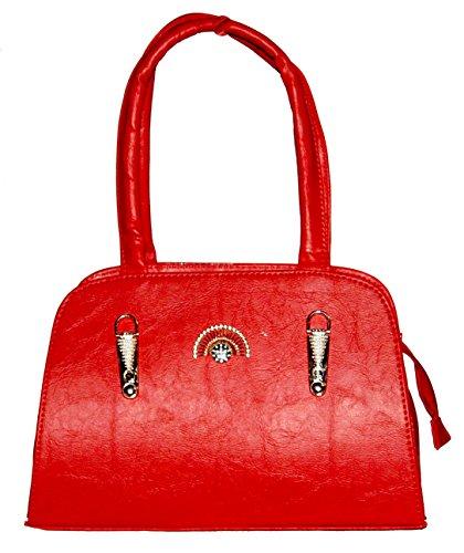 I.K. Collection Designer, Stylish and Trendy Women Shoulder Handbag in Red Color