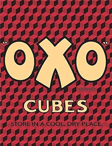 OXO Shabby Chic Style Vintage encadrée Style Vintage Photo Plaque Murale (A3)