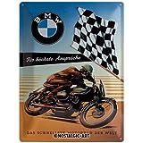Nostalgic-Art 23202 BMW - Ansprüche, Blechschild 30x40 cm