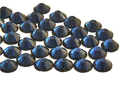 Tag Kostüm Am Auf Lieferung Nächsten - EIMASS® ELEMENTS Hotfix Glaskristalle mit flacher Rückseite, 1440 Stück, Montana Navy Blue, 3 mm