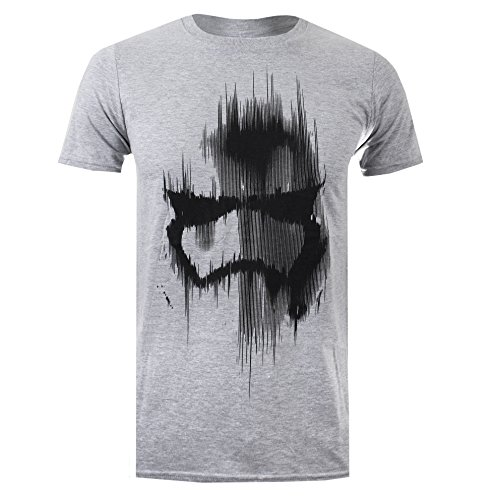 Star Wars Herren T-Shirt Gr. M, Grey (Grey Marl) (Star Wars Shirt)