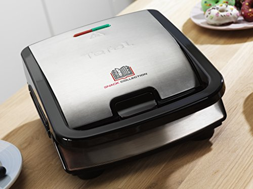 tefal sw852d27 snack collection multi function sandwich and snack maker with interchangeable. Black Bedroom Furniture Sets. Home Design Ideas