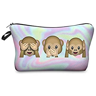 Estuches plumier multicolor Bolsa de aseo Estuche Make Up Bag [009]