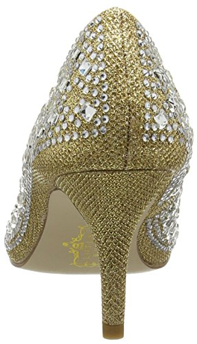 LotusSerenity - Scarpe con Tacco donna Oro (Gold (Light Gold))