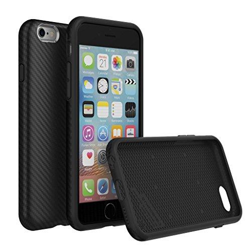 iPhone 6 Plus / 6s Plus Case, RhinoShield [SolidSuit Fibra di Carbonio] Heavy Duty. Shock Absorbent. Ultra Thin Scratch Resistant with Lifetime Warranty. 11ft Drop Protection Cover - Fibra di Carbonio Fibra di Carbonio