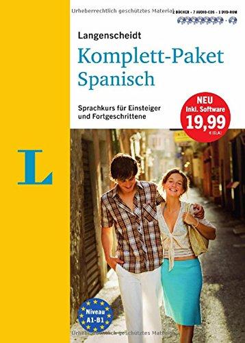 Preisvergleich Produktbild Langenscheidt Komplett-Paket Spanisch - Sprachkurs mit 2 Büchern, 7 Audio-CDs, 1 DVD-ROM, MP3-Download: Sprachkurs für Einsteiger und Fortgeschrittene