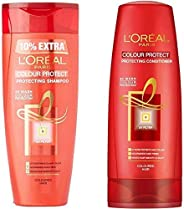 L'Oreal Paris Hair Expertise Colour Protect Shampoo, 360ml+36ml + L'Oreal Paris Hair Expertise Color Protect Conditioner, 17