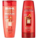 L'Oreal Paris Hair Expertise Colour Protect Shampoo, 360ml+36ml + L'Oreal Paris Hair Expertise Color Protect Conditioner, 175ml + 17.5ml