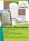 Pflanzen-Schutzsack, Wintervlies, Pflanzenvlies, ca. 1,20x1,80 Winterschutz für Pflanzen -