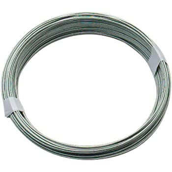 Supreme galvanised wire 05mm x 40m amazon diy tools bulk hardware bh00324 galvanised coated garden wire 1mm x 80 metres 260ft 18 gauge 5128 inch thickness greentooth Choice Image