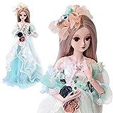 Wawer BJD Doll SD Doll 60cm/24inch handgemacht Prinzessin Braut Puppen für Mädchen Geschenk- und Puppenkollektion - Pädagogische Puppen Spielzeug