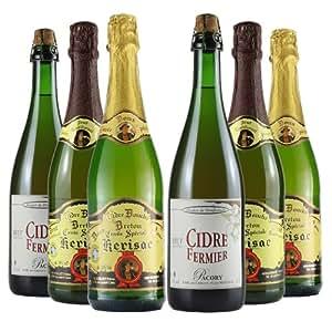 Le Bon Vin Premium Selection French Cider Mixed Case 75 cl (Case of 6)