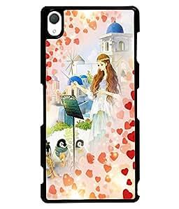 Printvisa 2D Printed Girly Designer back case cover for Sony Xperia Z3 - D4548