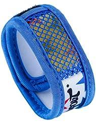 hysenm–Protección de pulsera antimosquitos Mosquitera antimücken con velcro 2libre nachfüllungen impermeable Camping Viaje Pesca, color  - azul