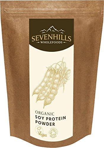 Sevenhills Wholefoods Bio-Soja protein pulver (Bio-soja-protein-isolat)