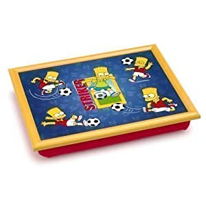 The Simpsons Padded Lap Tray Laptray - Bart Striker