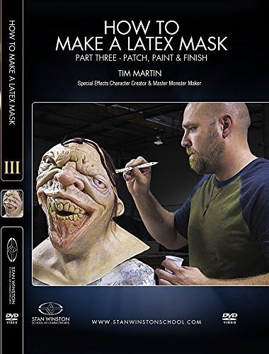 how-to-make-a-latex-rubber-mask-part-3-patch-paint-finish-by-timothy-martin