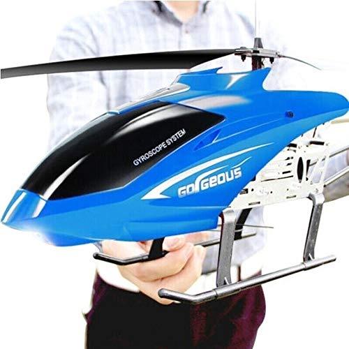 Ycco RC Drohne Spielzeug Für Kinder Teenager Jungen Geschenke USB Ladekabel Fernbedienung Hubschrauber Spielzeug mit LED Stabilisierungssystem Indoor/Outdoor RC Hubschrauber 3,5 Kanäle (Rot)