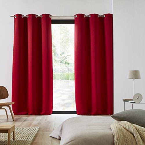 Decolicious – Juego di 2 cortinas opacas ojales