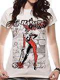 Cid Harley Quinn - Comic T-Shirt Femme Multicolore FR : XXL (Taille Fabricant : XXL)