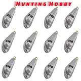 #6: Fishing Lead Casting Sinker, Molds, Weights, Shots, Ball 20g