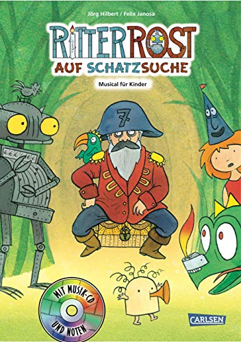 Ritter Rost 15: Ritter Rost auf Schatzsuche: Buch mit CD - Auf Bücher Cd Für Kinder