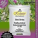 Kräutererde für Kräutergärten und Küchenkräuter. BIOerde Substrat - 10 Ltr. PROFI LINIE Substrat rein organisch