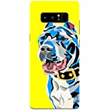 Samsung Note 8 Cases And Covers I Love Pitbull Wild For Dog Puppy Lovers Designer Printed Hard Shell Case