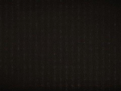 Baumwolle Jeansstoff Köper uni, schwarz, 140cm