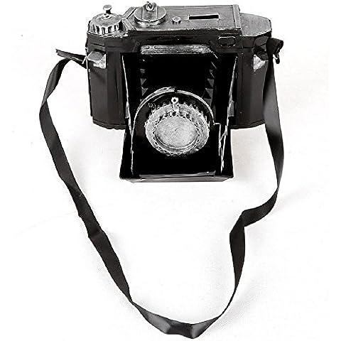 GYN Antique Oid retro moda Tin SLR modelo de cámara para la tienda de decoración de la tienda de casa