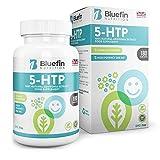 5-HTP - 200 mg - Doble Potencia Supresores del apetito de Bluefin Nutrition (180 Caps)