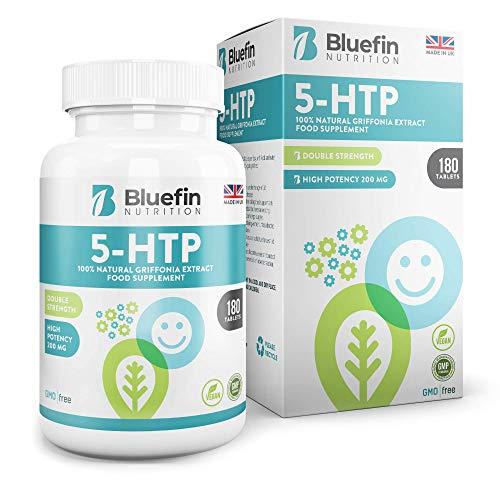 Bluefin 5-HTP Ultra Pure 200mg | Favorece el Sueño y un Estado...