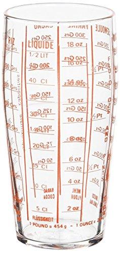 Luminarc 1031895Medida, Vidrio, Transparente, 8cm