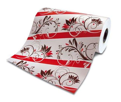 "Rollenpapier / Einschlagpapier ""Konditorline"" 50cm breit, bedruckt, 1 Rll."