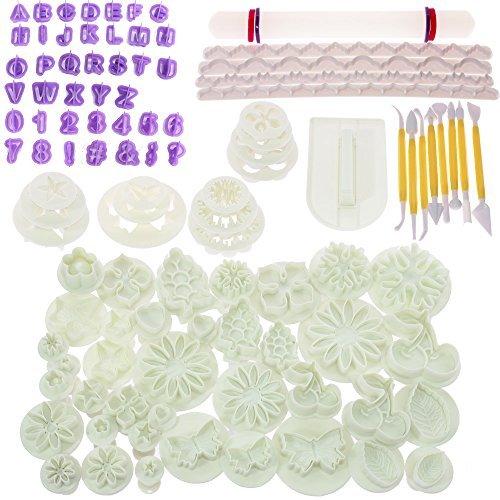 BIGTEDDY-Kit moldes decoración glaseado moldes