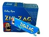 1x cigarette Zig Zag Bleu King Size papier à rouler Papier livre Livret