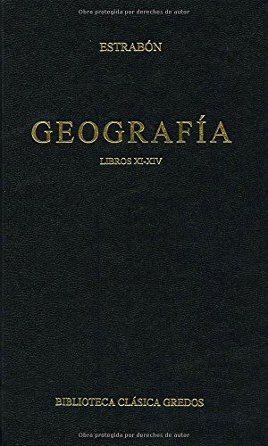 Geografia libros xi-xiv (B. CLÁSICA GREDOS)
