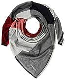 Tommy Hilfiger Damen Schal TH Blanket, Rot (Corp Mix 901), One Size (Herstellergröße: OS)